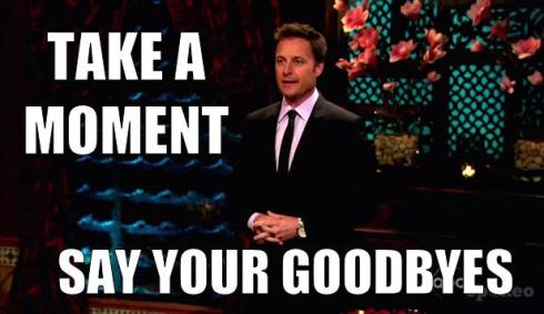 chris harrison meme say your goodbyes