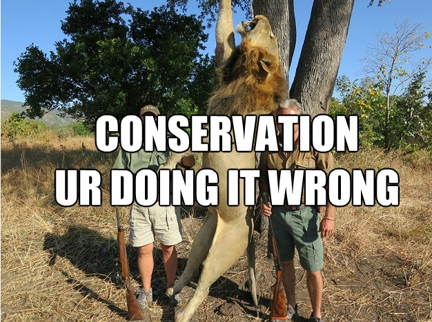 conservation ur doing it wrong