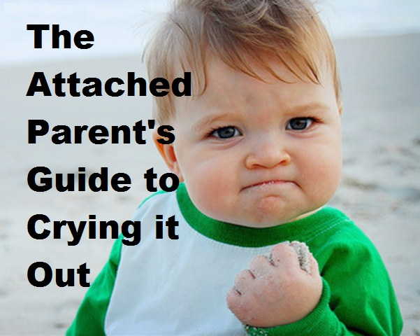 The Attached Parent's Guide to Crying it Out