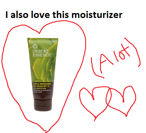 Products to Boost Your Earth Mother Street Cred -- desert essence moisturizer