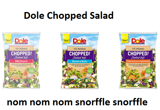 Products to Boost Your Earth Mother Street Cred -- Dole chopped salad