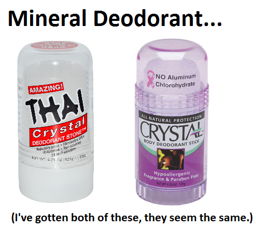 Products to Boost Your Earth Mother Street Cred -- Mineral Deodorant