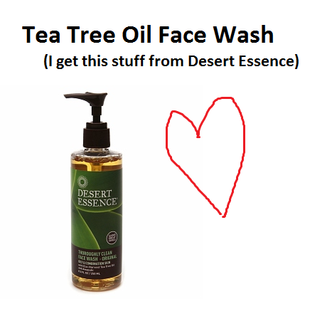 Products to Boost Your Earth Mother Street Cred -- Tea tree oil face wash